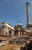 Ruines du forum romain — Photo