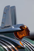 Hood ornament of the 1953 Pontiac — Stock Photo