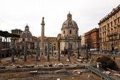 římské ruiny — Stock fotografie