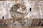 Detalles del arco triunfal de Constantino — Foto de Stock