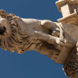 Lion gargoyle — Stock Photo
