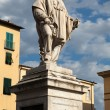Giuseppe Garibaldi Monument in Lucca — Stock Photo