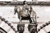 St. Martin on horseback — Stock Photo
