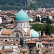 The Great Synagogue of Florence — Stock Photo #13336981