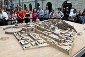 3D map of Vatican City — Stock Photo