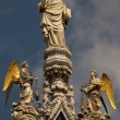 St Mark and Angels — Stock Photo