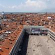 Aerial view of the San Marco square — Stock Photo #13347340