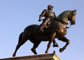 Statue of Bartolomeo Colleoni — Stock Photo