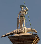 Statue of St Theodore — Stock Photo