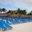 Playa del Carmen beach — Stock Photo