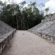 Ancient Mayan Ball Court — Stock Photo