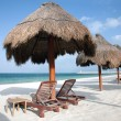 Playa Del Carmen beach in Mexico — Stockfoto