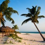 Playa Del Carmen beach in Mexico — Stock Photo #13441100