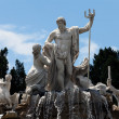 neptune fountain — Stock Photo