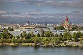 Danube Island — Stock Photo