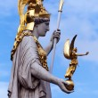 Athena statue — Stock Photo