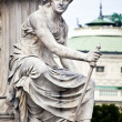 Athena Fountain in Vienna — Stock Photo