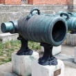 Stock Photo: 18th century Austrian Mortar