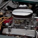 Постер, плакат: Vintage Corvette engine