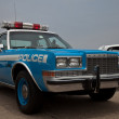 Plymouth police car — Stock Photo