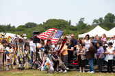 Powwow Native American Festival — Stock Photo