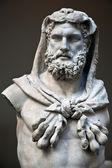 海格力斯的雕像 — 图库照片