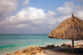 Aruba beach — Stock Photo