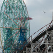 Coney Island Wonder Wheel — Stok fotoğraf