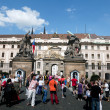 Entrance to the Prague Castle — Stock Photo