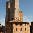 San Gimignano in Siena, Tuscany — Stock Photo