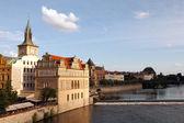 Vltava river in Prague — Stock Photo