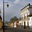 Street in Antigua, Guatemala — Stock Photo