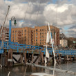Stock Photo: Sheepshead Bay after Superstorm Sandy