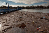 Sheepshead Bay after the Superstorm Sandy — Stock Photo