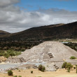 Stock Photo: Pyramid of Moon in Teotihuacan, Mexico