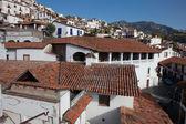 Ville de taxco, situé dans l'état mexicain de guerrero — Photo