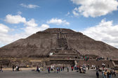 Pyramid of the Sun in Teotihuacan, Mexico — Stock Photo