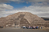 Pyramid of the Moon in Teotihuacan, Mexico — Stock Photo