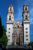 Church of Santa Prisca in Taxco — Stock Photo