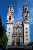 Church of Santa Prisca in Taxco — Stock Photo
