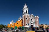 San Jose parish church in Tlaxcala — Stock Photo