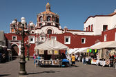 Church of Santo Domingo in Puebla — Stock Photo