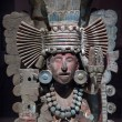 Stock Photo: Pre-ColumbiMesoamericstone statue