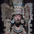 Pre-Columbian Mesoamerican stone statue — Stock Photo