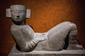 Mesoamerican Chac-Mool statue — Stock Photo