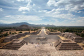 Teotihuacan, Mexique — Photo