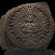 Mexica Sun Stone — Stock Photo