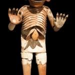 Mictlantecuhtli sculpture — Stock Photo