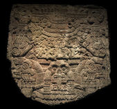 Tlaltecuhtli, the Aztec Earth diety — Stock Photo