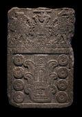 Ancient Mayan stone carving — Stock Photo